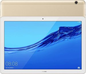 Huawei Mediapad Enjoy Tablet AGS2-W09, 10,1 inch, 3GB + 32GB, Android 8.0 Hisilicon Kirin 659 Octa Core, 4 x 2,36 GHz + 4 x 1,7 GHz, ondersteuning voor OTG & GPS & Dual WiFi (Champagne Gold)