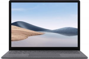 "Microsoft Surface Laptop 4 13.5"" Intel i5 - 8GB - 512GB Platinum QWERTY"
