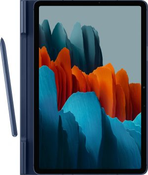 Samsung Book Hoesje - Samsung Tab S7 - 11 inch - Navy
