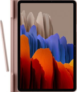Samsung Book Hoesje - Samsung Tab S7 - 11 inch - Roze