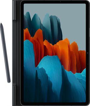 Samsung Book Hoesje - Samsung Tab S7 - 11 inch - Zwart