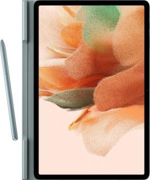 Samsung Book Hoesje - Samsung Tab S7+/Tab S7+ FE - 12.4 inch - Light Green
