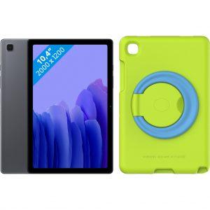 Samsung Galaxy Tab A7 32GB Wifi Grijs + Kinderhoes Groen