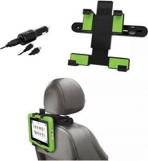 Tablethouder voor auto, voor alle 7 inch tot en met 10 inch tablets met een micro/mini-USB aansluiting