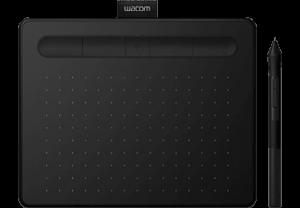 WACOM Intuos S Zwart Bluetooth