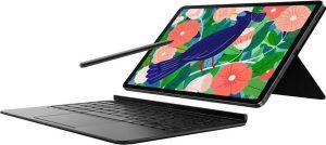 Book Cover Keyboard Samsung Galaxy Tab S7 tablettoetsenbord - 11 inch - QWERTY - Zwart