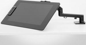 Wacom Ergo Flex - Bureaumontage voor lcd-scherm/-digitaliseerder - voor Wacom DTH-2242; Cintiq Pro 24 Creative Pen & Touch Display, DTH-3220, DTK-2420