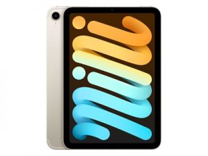 Apple iPad Mini (2021) - 64 GB - Wi-Fi + Cellular - Zilver