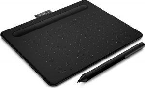 Tekentablets - WACOM Intuos S Zwart Bluetooth - 20 x 16 x 0.9 cm - zwart - tekenen, schilderen, jouw favoriete foto's bewerken