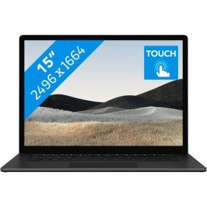 "Microsoft Surface Laptop 4 15"" i7 - 16GB - 512GB Zwart"